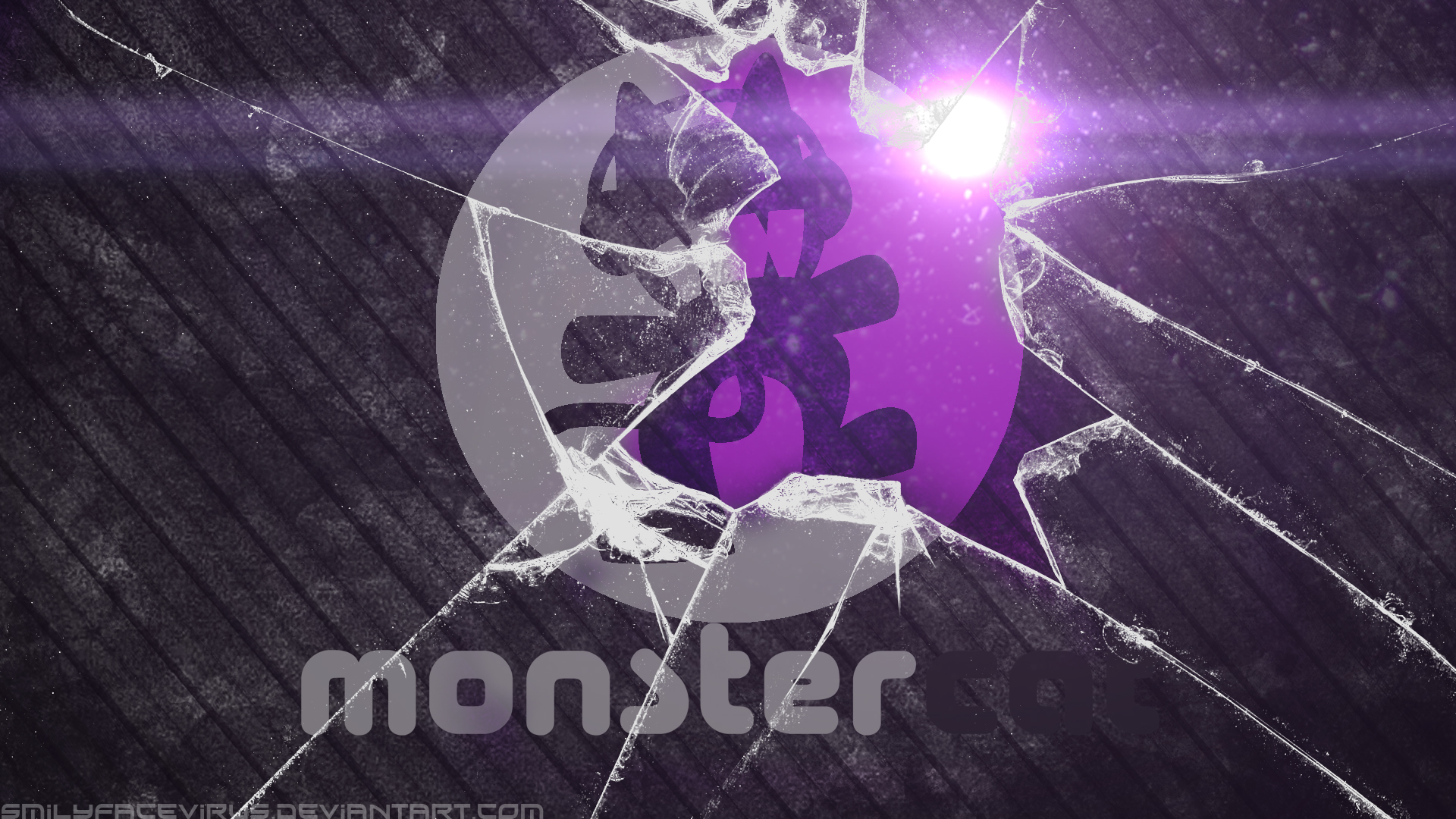 Monstercat Wallpaper by SMILYFACEvirus on DeviantArt
