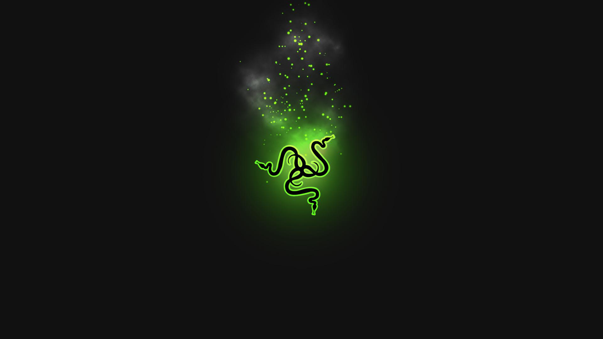 virus laptop background