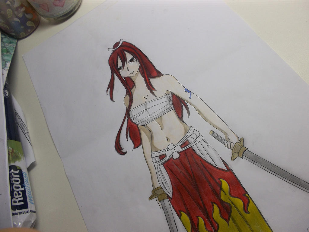Erza Scarlet, The Titania by vifairytail
