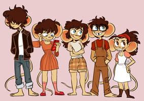 Ramona's Siblings by Hazard-Girl