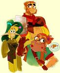 Tres Horny Boys