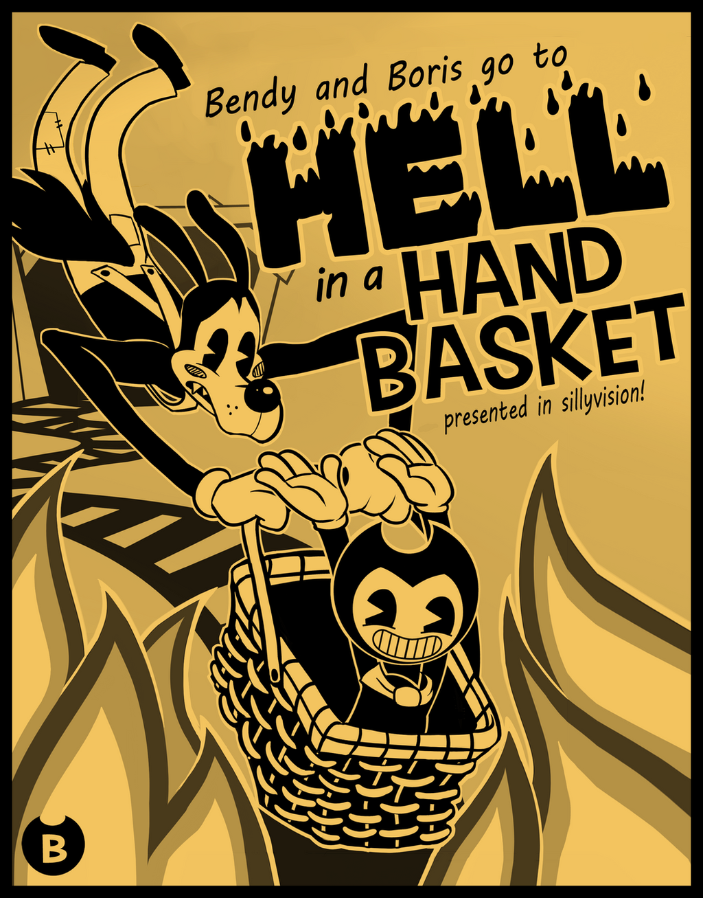 Bendy Chapter 2 Contest Entry By Hazard Girl On DeviantArt