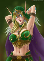 Alleria Windrunner by Roghka