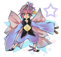 .the bright Colorful-Stars Priest [ Chibi ] by AoiCake