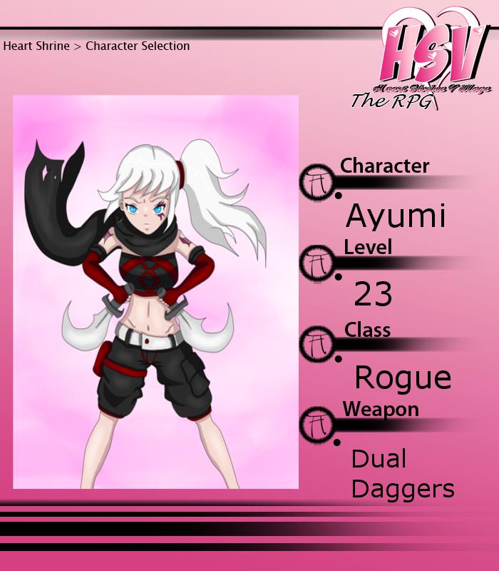 HSV RPG - Ayumi by Dazed--Flame
