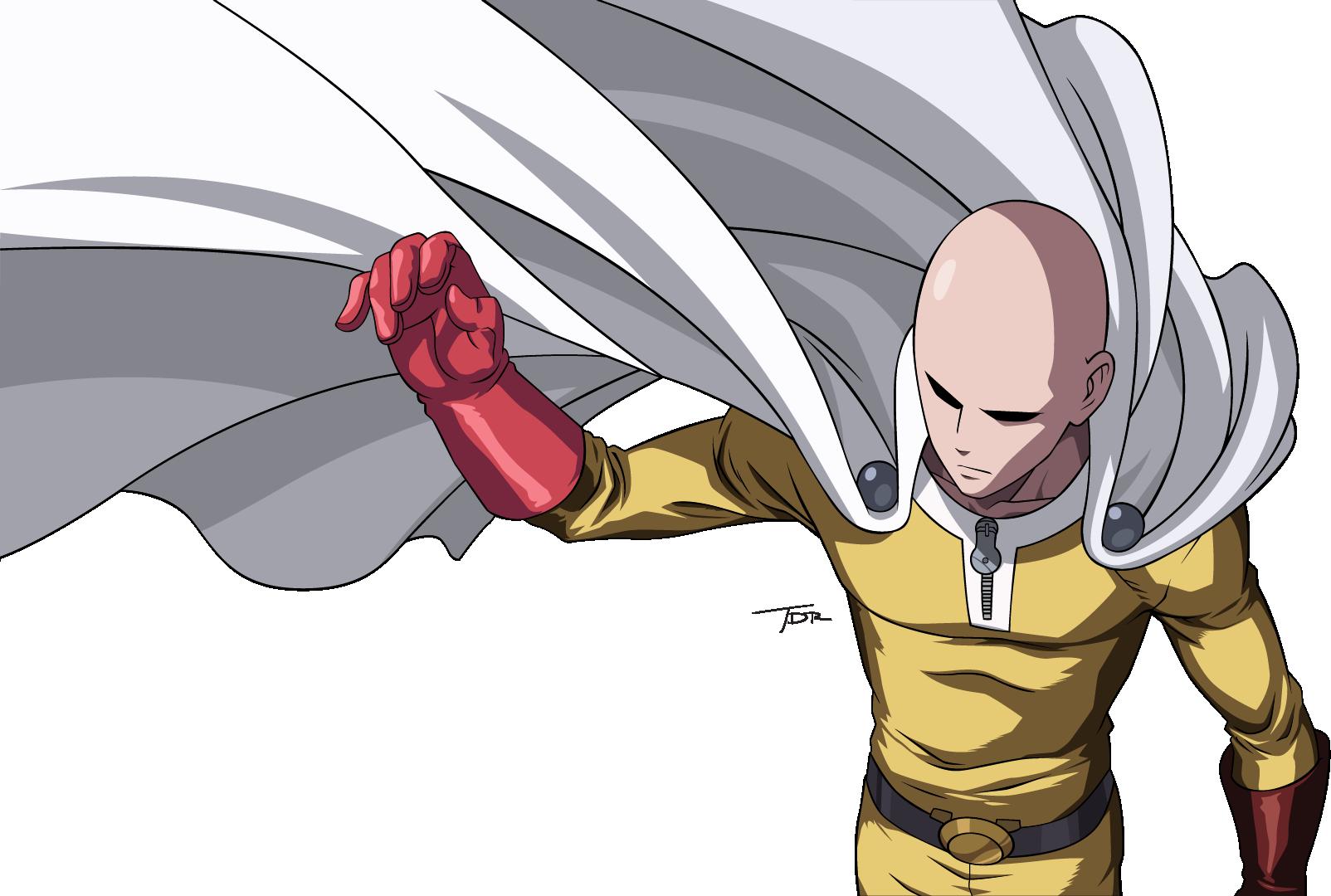Saitama One Punch Man by truss31 on DeviantArt