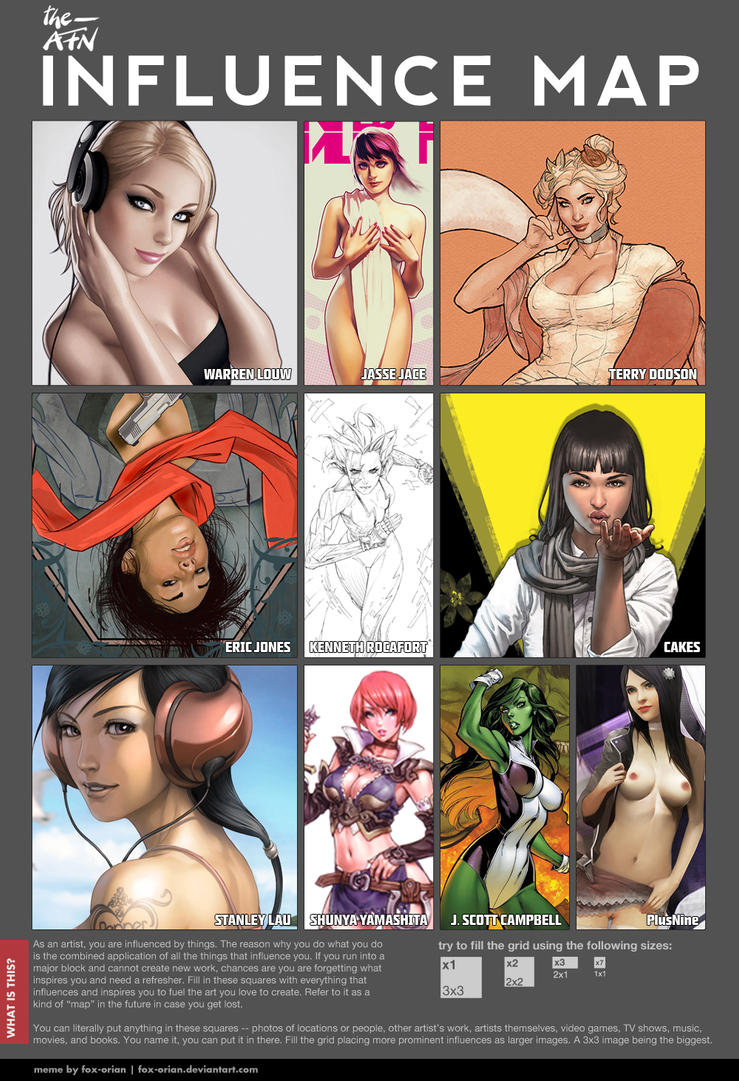 Influence map by TheAFN
