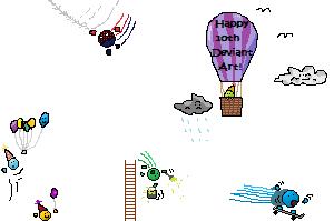 dA 10th birthday entrys by BANGDK