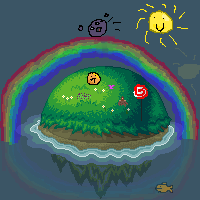 Desert Island Project entry xD by BANGDK