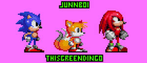 Team Sonic: Sonic 2 Styled