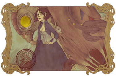 Elizabeth and Songbird by relssaH