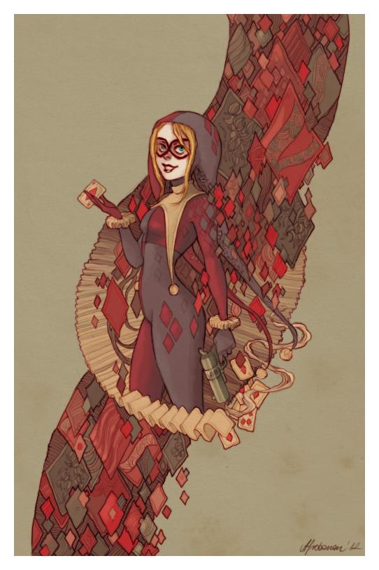 Harley Quinn by relssaH