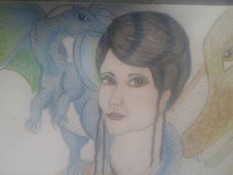 Dragonlady by winnie246