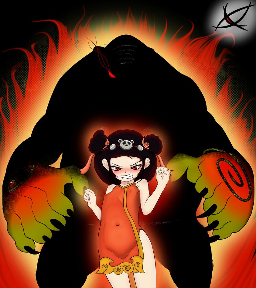 Annie Panda by ojoqtlv