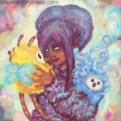 Oekaki-blush-colors-cute-fantasy-original-made-by-