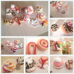 kawaii  cookies and icecream