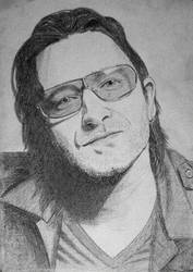 Bono U2 by art1st1cDes1gn
