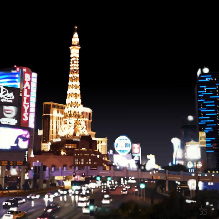 Las Vegas Lights by art1st1cDes1gn