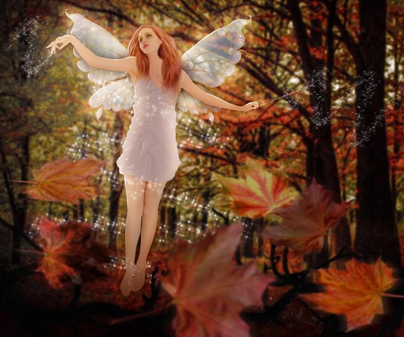 Autumn Fairy by art1st1cDes1gn