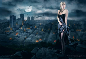The last warrior by art1st1cDes1gn