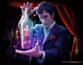 Magic Bottle by art1st1cDes1gn