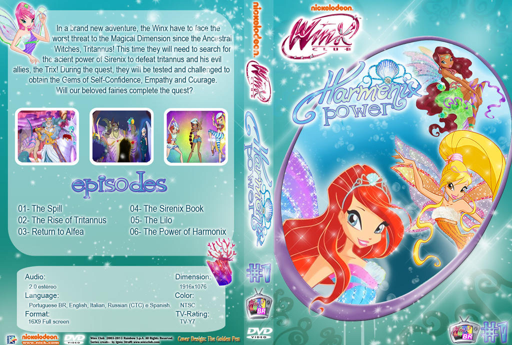 Harmonix EngCover - FanMade Download by VanessaBBaranda