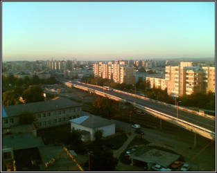 Bacau in the evening by TQXIC