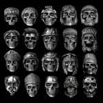 Wall of Skulls by fourspeedindonesia