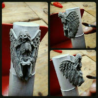 Deadwings ring sculpture by fourspeedindonesia