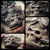 Fourspeed X David Vicente buckle sculpting
