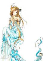 Goddess of the Lake by Crysenna