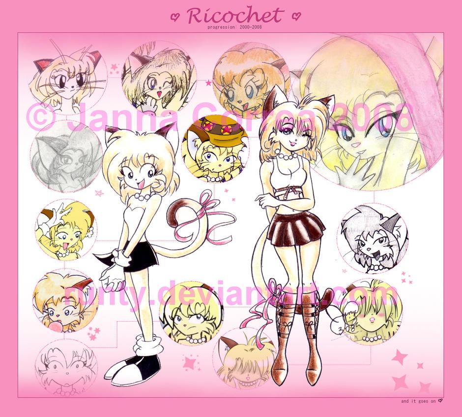 -progression: Ricochet- by runty