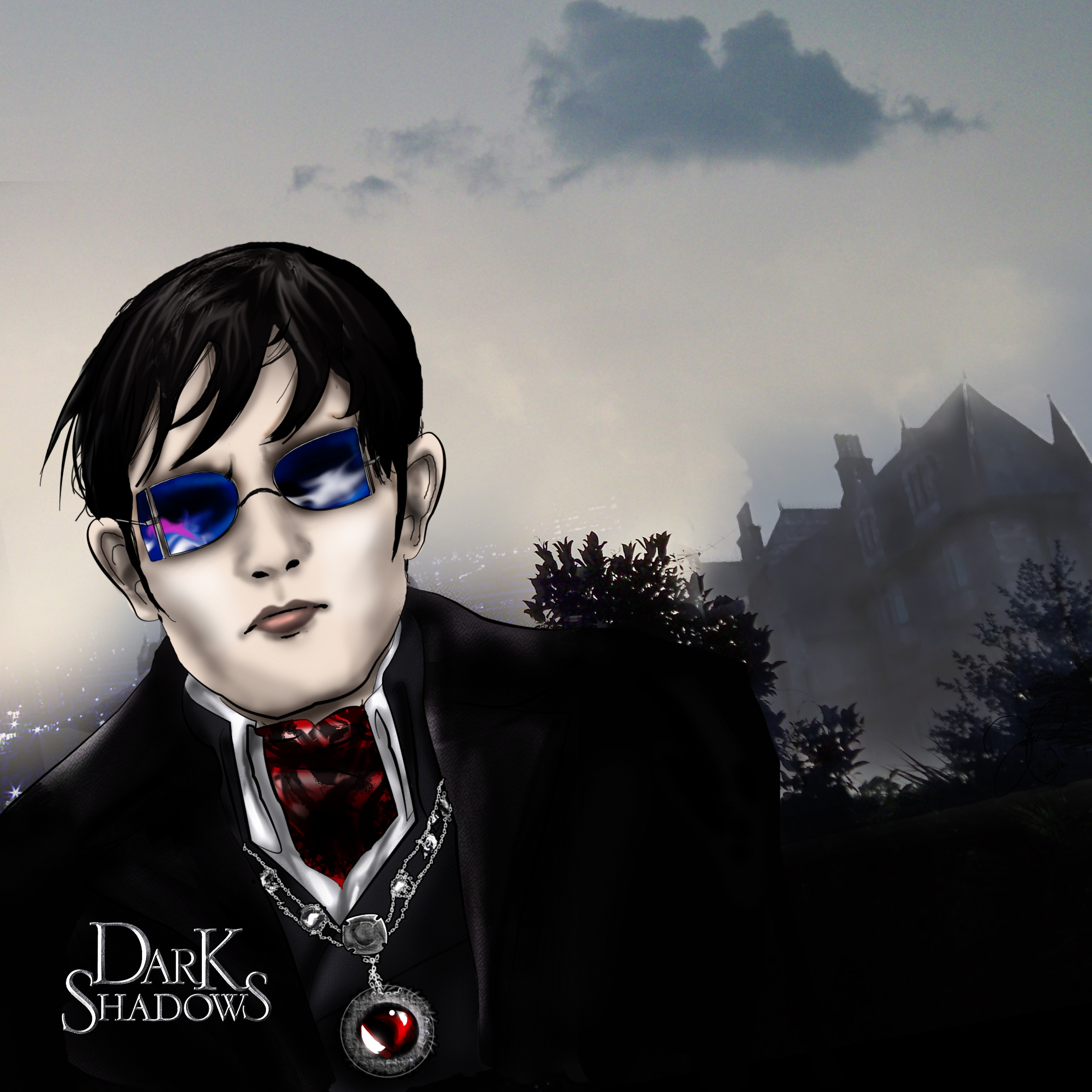 -dark shadows: new vision- by runty