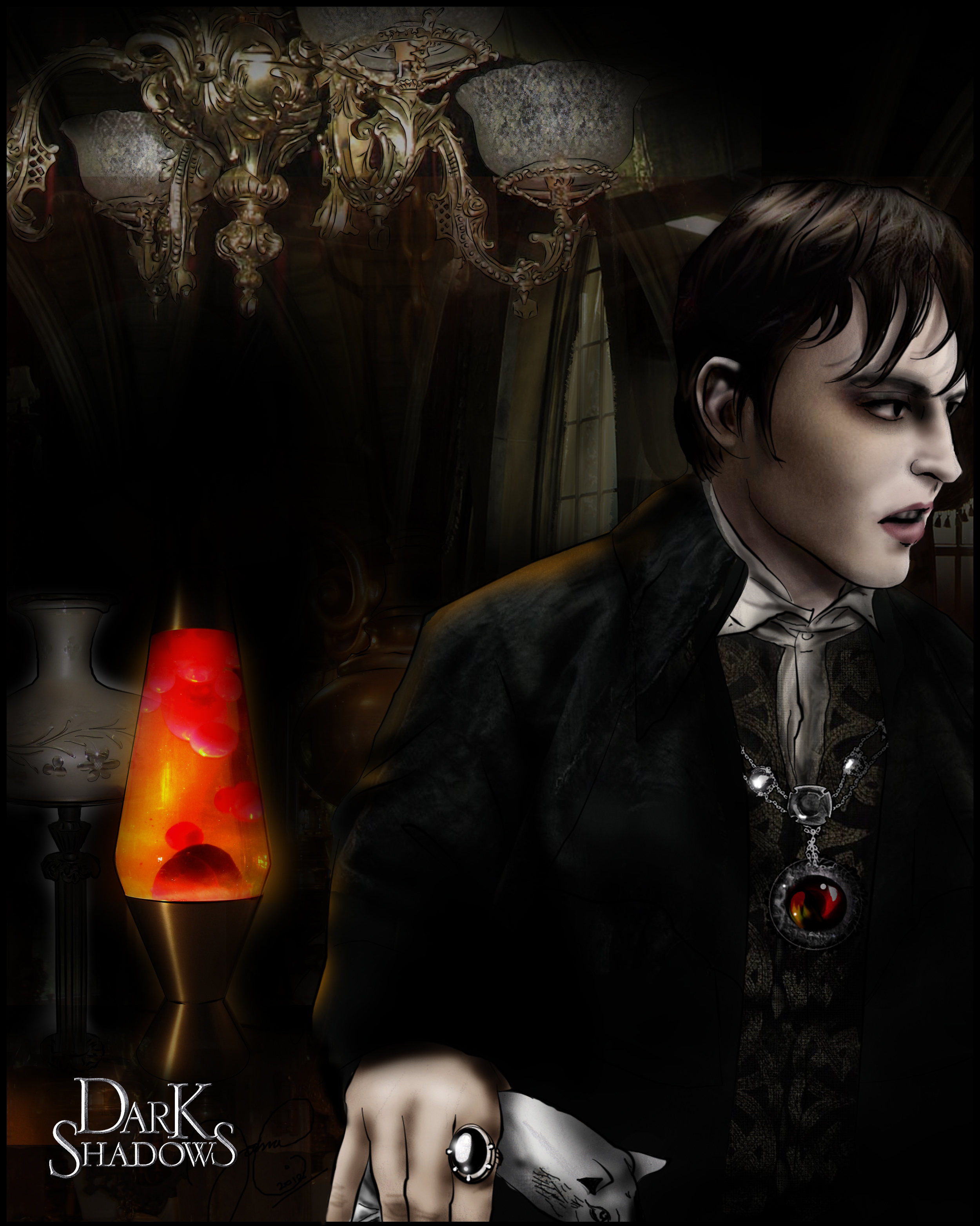 -dark shadows: the old and the new- by runty