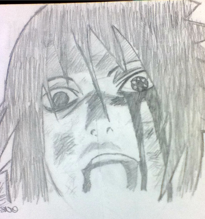Sasuke 0.0 EVILLLL by evan-is-banned