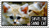Save the Sand Cat by TipsyDigital
