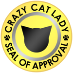 Crazy Cat Lady Seal of Approval by TipsyDigital
