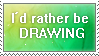 Drawing Stamp by FeatheredSoap