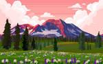 Pixel Art Background Practice2