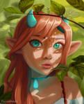 Demon Girl? Elf Girl? Idk