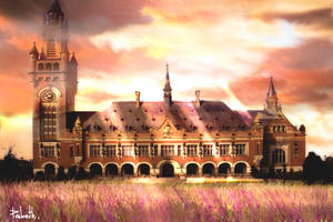 sunkissed palace by pwh