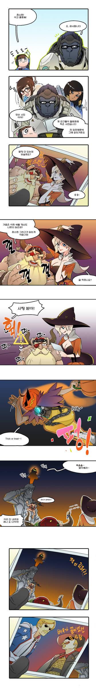 Winston's Halloween 1