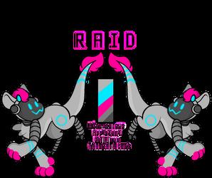 Raid [Roorogoon MYO Approved] by InfiniteCak3
