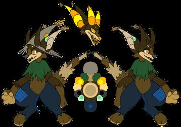 Mr Scarecrow [Voodog MYO] by InfiniteCak3