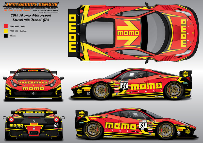 Momo Livery Contest By Armageddondesigns On Deviantart