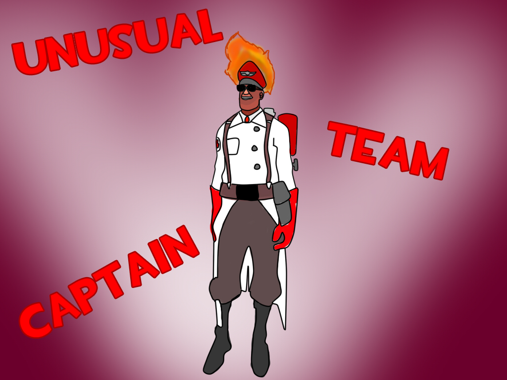 Medic's unusual hat