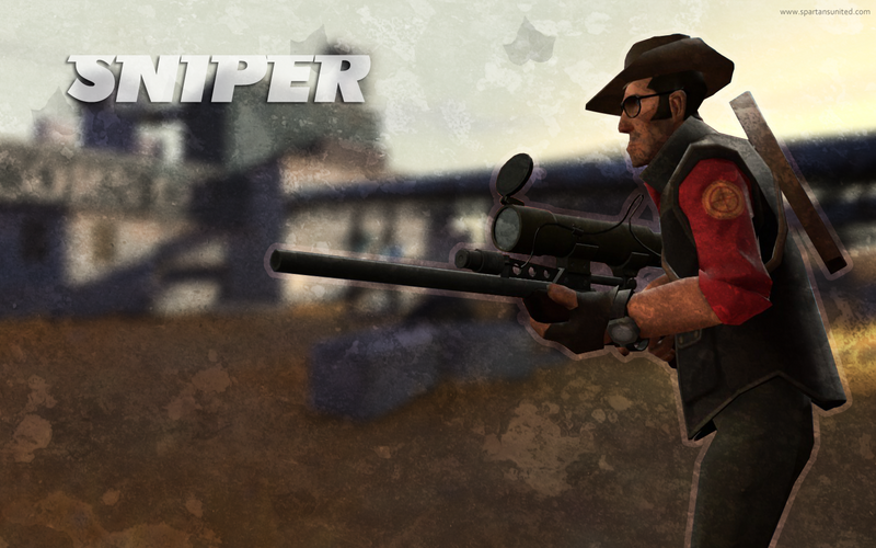 TF2 Sniper Wallpaper By Wheels2go