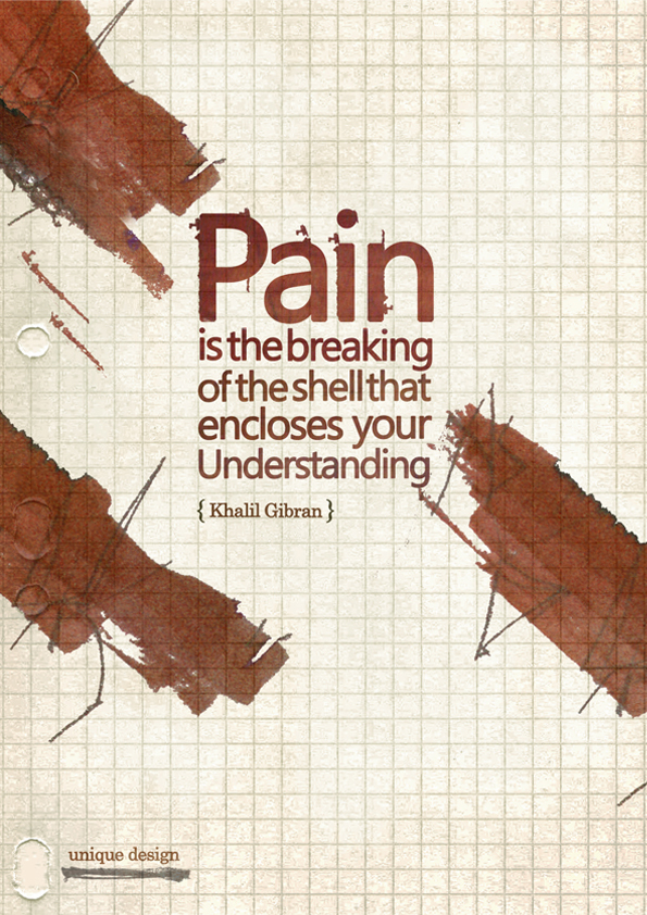 Pain quote by uniquefa