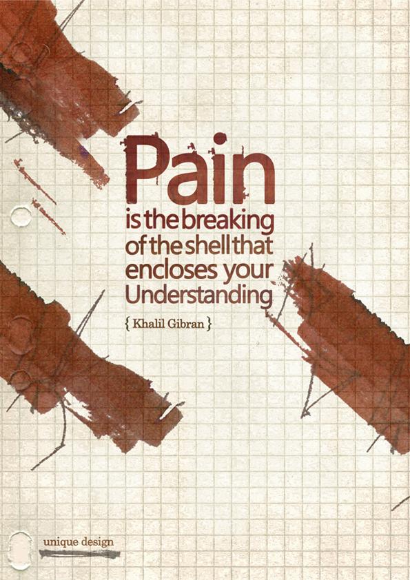 Pain quote by uniquefa