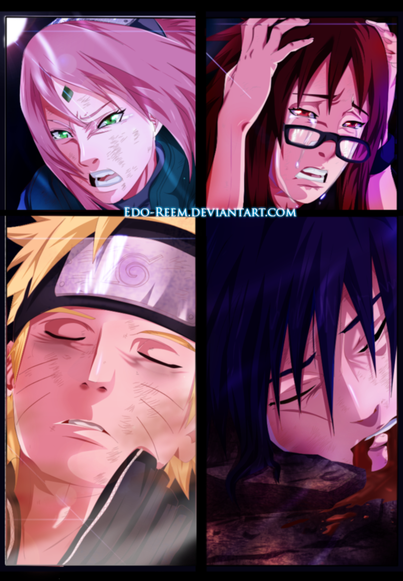Naruto 662 - The End by edo-reem